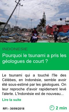 Science pourquoi le tsunami a pris les geologues de court page001