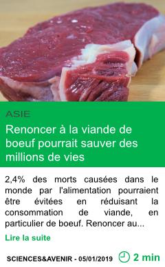 Science renoncer a la viande de boeuf pourrait sauver des millions de vies page001