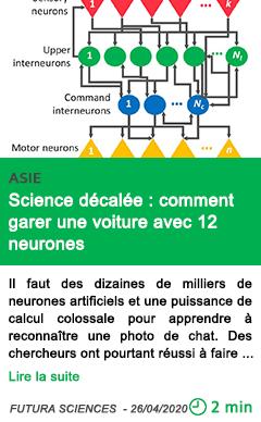 Science science decalee comment garer une voiture avec 12 neurones