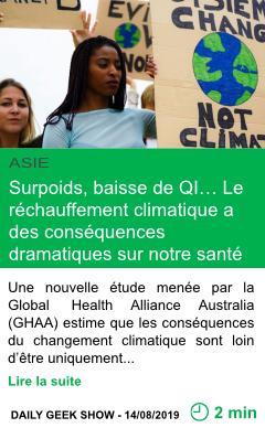 Science surpoids baisse de qi le rechauffement climatique a des consequences dramatiques sur notre sante page001