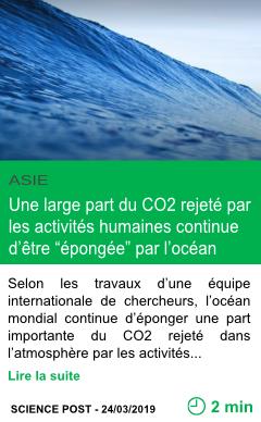 Science une large part du co2 rejete par les activites humaines continue d etre epongee par l ocean page001