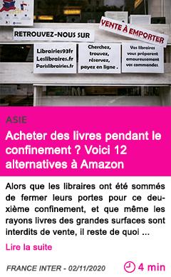 Societe acheter des livres pendant le confinement voici 12 alternatives a amazon