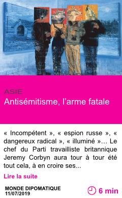 Societe antisemitisme l arme fatale page001