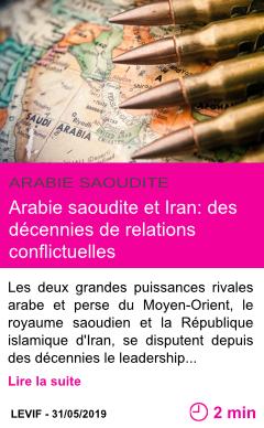 Societe arabie saoudite et iran des decennies de relations conflictuelles page001