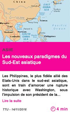 Societe asie les nouveaux paradigmes du sud est asiatique
