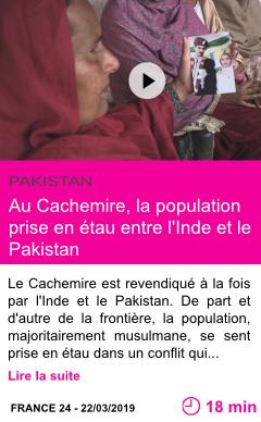 Societe au cachemire la population prise en etau entre l inde et le pakistan page001