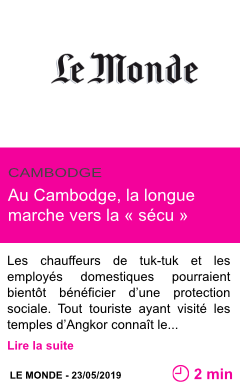 Societe au cambodge la longue marche vers la secu page001