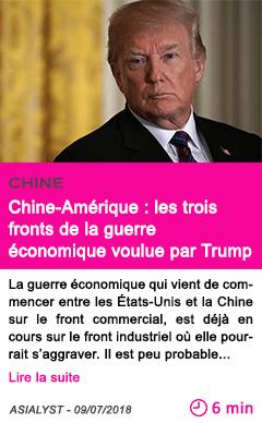 Societe chine amerique les trois fronts de la guerre economique voulue par trump