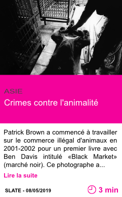 Societe crimes contre l animalite page001