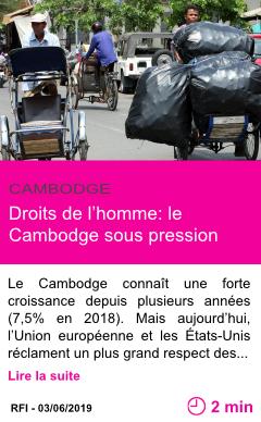 Societe droits de l homme le cambodge sous pression page001