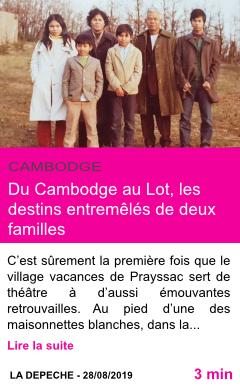 Societe du cambodge au lot les destins entremeles de deux familles page001