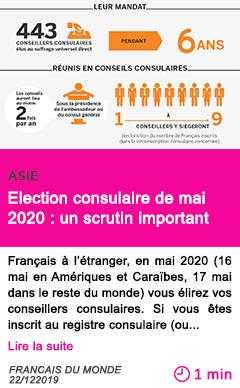 Societe election consulaire de mai 2020 un scrutin important