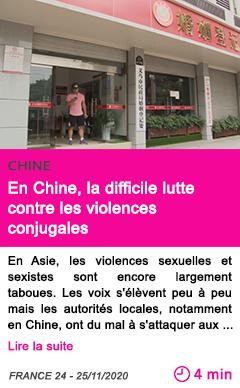 Societe en chine la difficile lutte contre les violences conjugales