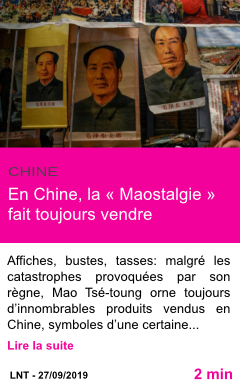 Societe en chine la maostalgie fait toujours vendre page001