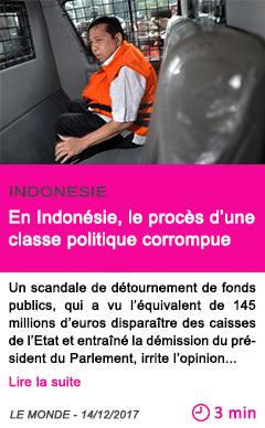 Societe en indonesie le proces d une classe politique corrompue 1