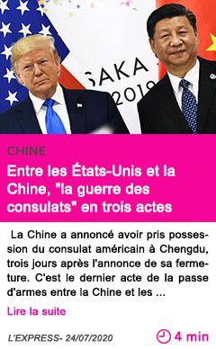 Societe entre les etats unis et la chine la guerre des consulats en trois actes
