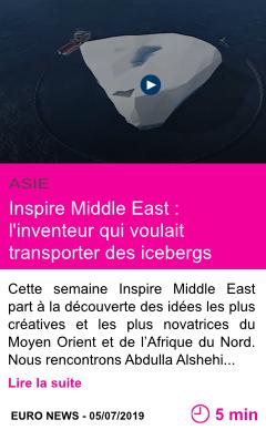 Societe inspire middle east l inventeur qui voulait transporter des icebergs page001