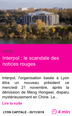 Societe interpol le scandale des notices rouges page001