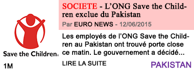 Societe l ong save the children exclue du pakistan 1
