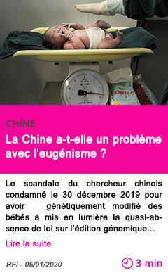 Societe la chine a t elle un probleme avec l eugenisme