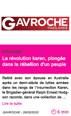 Societe la revolution karen plongee dans la rebellion d un peuple