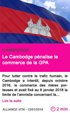 Societe le cambodge penalise le commerce de la gpa