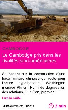 Societe le cambodge pris dans les rivalites sino americaines page001