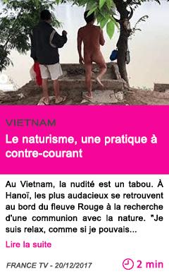Societe le naturisme une pratique a contre courant