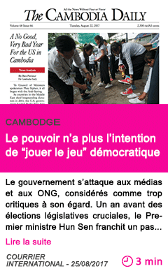 Societe le pouvoir n a plus l intention de jouer le jeu democratique
