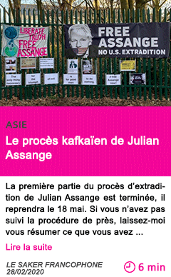 Societe le proces kafkaien de julian assange