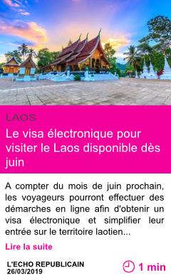 Societe le visa electronique pour visiter le laos disponible des juin page001