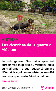 Societe les cicatrices de la guerre du vietnam