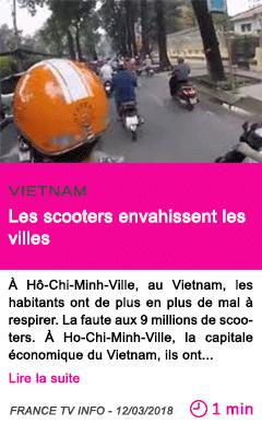 Societe les scooters envahissent les villes