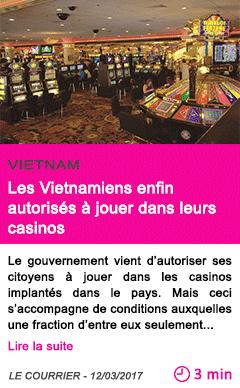 Societe les vietnamiens enfin autorises a jouer dans leurs casinos