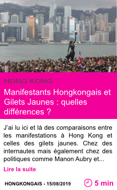 Societe manifestants hongkongais et gilets jaunes quelles differences page001