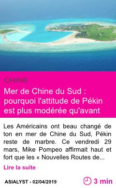 Societe mer de chine du sud pourquoi l attitude de pekin est plus moderee qu avant page001