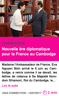Societe nouvelle ere diplomatique pour la france au cambodge
