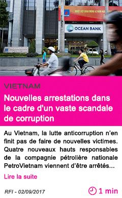 Societe nouvelles arrestations dans le cadre d un vaste scandale de corruption