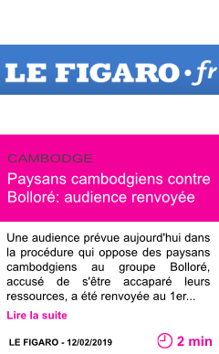 Societe paysans cambodgiens contre bollore audience renvoyee page001