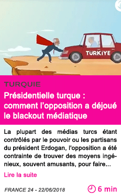 Societe presidentielle turque comment l opposition a dejoue le blackout mediatique