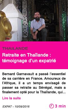 Societe retraite en thailande temoignage d un expatrie