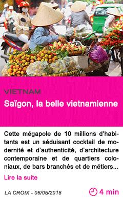 Societe saigon la belle vietnamienne