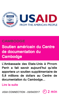 Societe soutien americain du centre de documentation du cambodge
