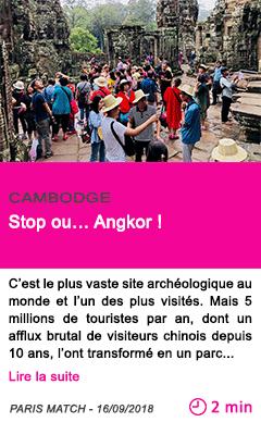 Societe stop ou angkor