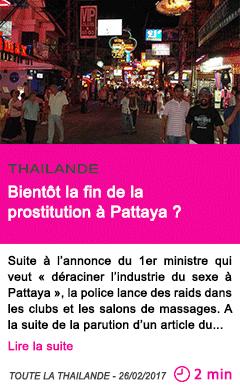 sida prostituée thailande