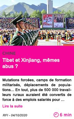 Societe tibet et xinjiang me mes abus
