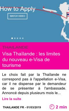 Societe visa thailande les limites du nouveau e visa de tourisme page001