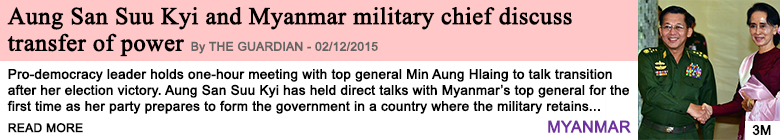 Society aung san suu kyi and myanmar military chief discuss transfer of power