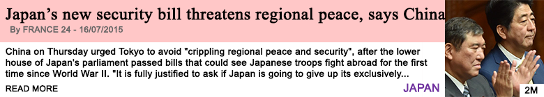 Society japan s new security bill threatens regional peace says china