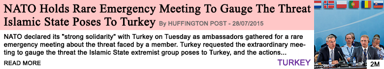 Society nato holds rare emergency meeting to gauge the threat islamic state poses to turkey